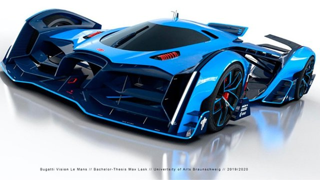 Bugatti заінтригували дизайном нового гіперкара - фото 431747