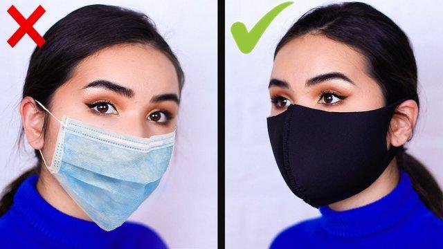 Косметолог розповіла, як уникнути висипань при носінні маски - фото 431755