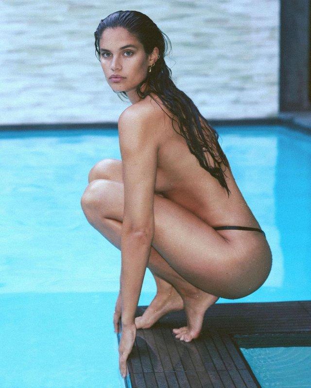 Дівчина тижня: гаряча красуня Сара Сампайо – той самий ангел з реклами Axe Effect (18+) - фото 431855
