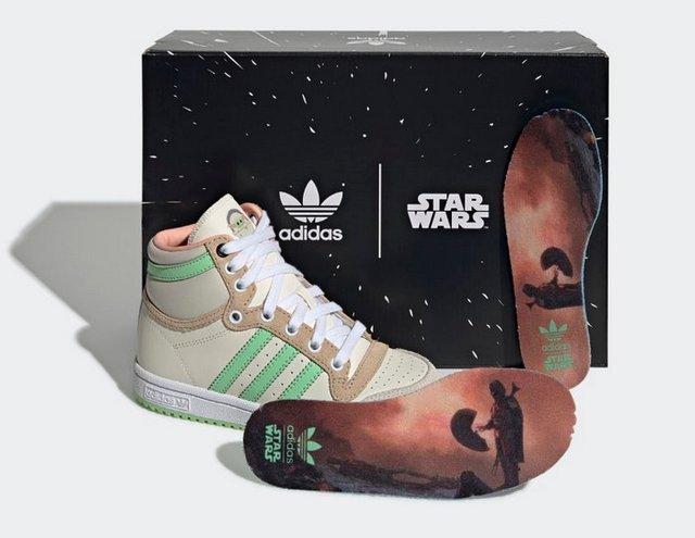 Adidas присвятили нові кросівки малюкові Йоді - фото 432562
