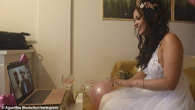 У світі відсвяткували перше в історії онлайн-весілля: фото - фото 433468