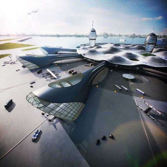 Японські архітектори показали туристичний космопорт майбутнього - фото 433981