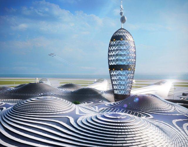 Японські архітектори показали туристичний космопорт майбутнього - фото 433982