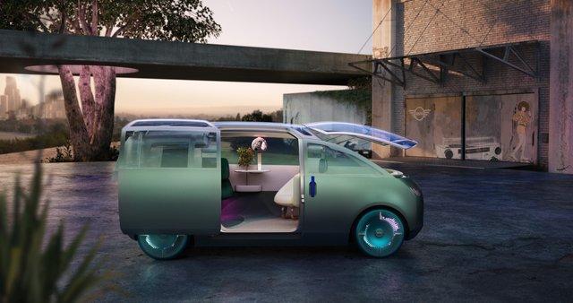 Mini показала футуристичний концепт мінівена Vision Urbanaut: фото - фото 435536