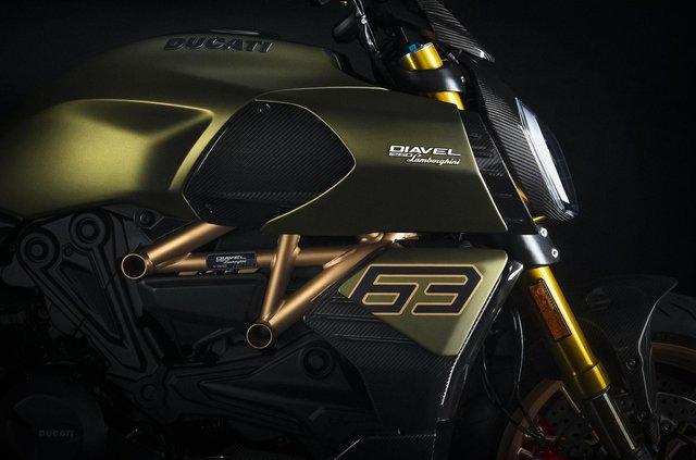 Представлено мотоцикл Ducati у стилі Lamborghini Sian: у чому його особливість - фото 436753