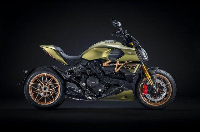 Представлено мотоцикл Ducati у стилі Lamborghini Sian: у чому його особливість - фото 436755