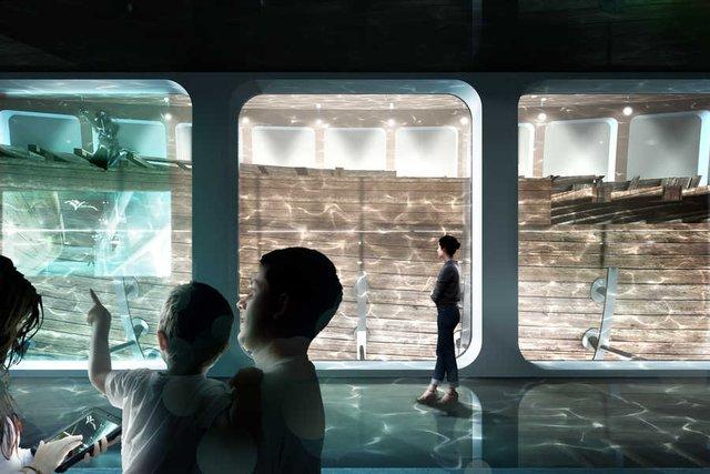 В Амстердамі з'явиться підводний музей корабля, що затонув - фото 437056