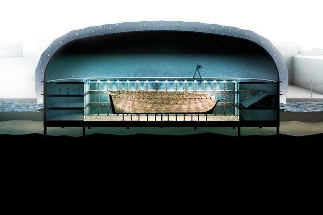 В Амстердамі з'явиться підводний музей корабля, що затонув - фото 437058
