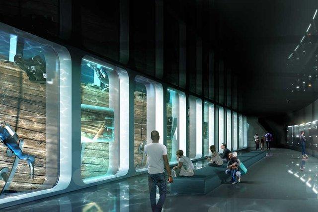 В Амстердамі з'явиться підводний музей корабля, що затонув - фото 437060