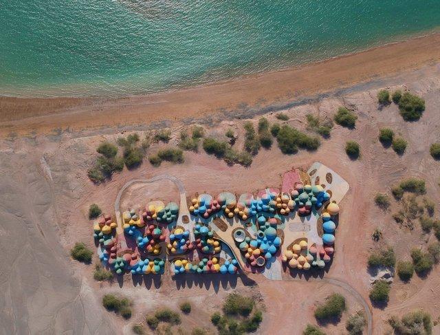 Справжній інстаграмний рай: як виглядає кольорове село на острові Ормуз в Ірані - фото 441689