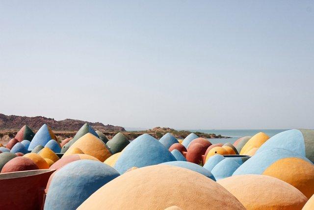 Справжній інстаграмний рай: як виглядає кольорове село на острові Ормуз в Ірані - фото 441691