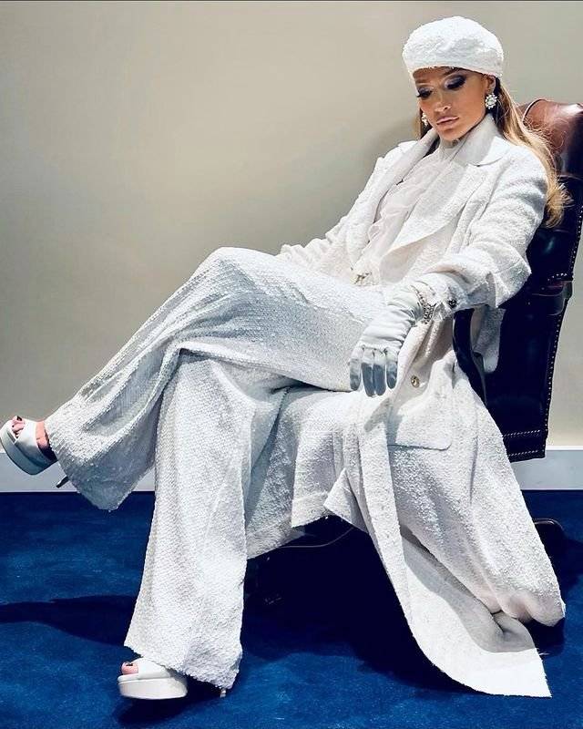 Дженіфер Лопес вразила мережу розкішним образом на інавгурації Джо Байдена: фото - фото 444305