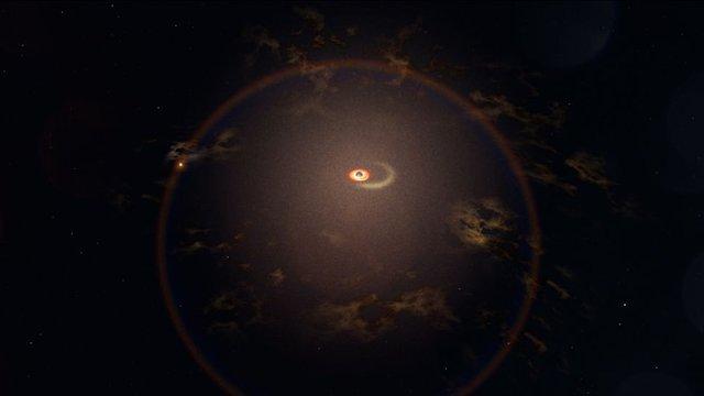 У далекій галактиці зафіксували найзагадковіші спалахи: фото - фото 444319