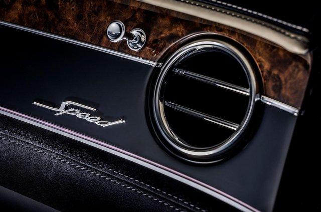 Bentley представила кабріолет Continental GT Speed - фото 455640
