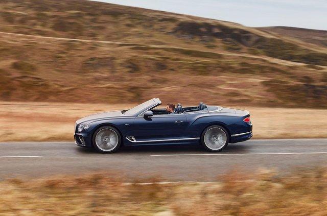 Bentley представила кабріолет Continental GT Speed - фото 455642