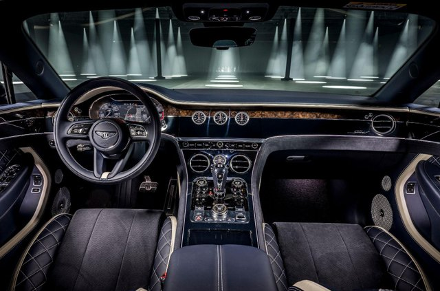 Bentley представила кабріолет Continental GT Speed - фото 455644