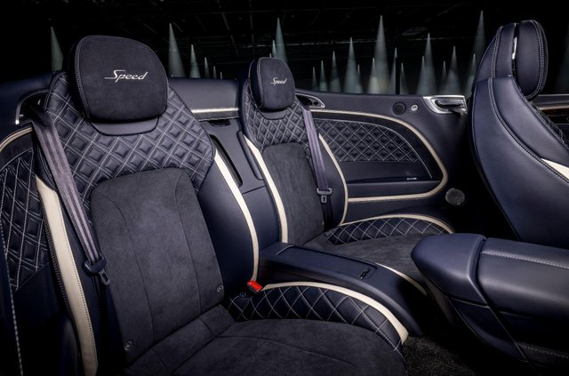 Bentley представила кабріолет Continental GT Speed - фото 455645