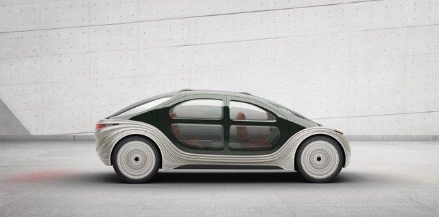 Створено електромобіль, який поглинає вихлопні гази інших авто - фото 457081