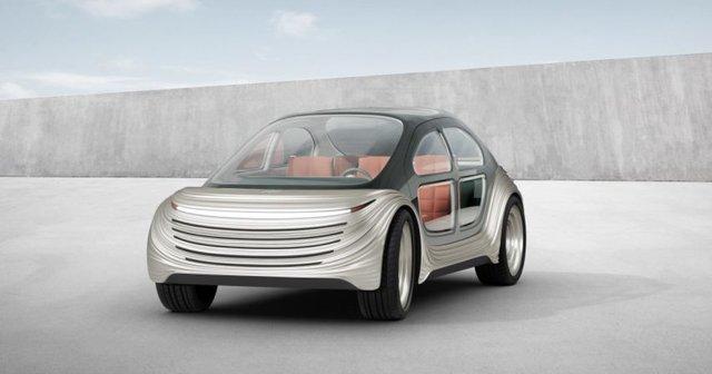 Створено електромобіль, який поглинає вихлопні гази інших авто - фото 457082