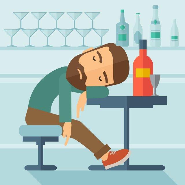 Названі основні симптоми отруєння алкоголем - фото 458069